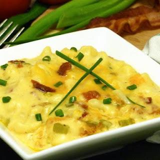 Loaded Cauliflower Un-Mac & Cheese