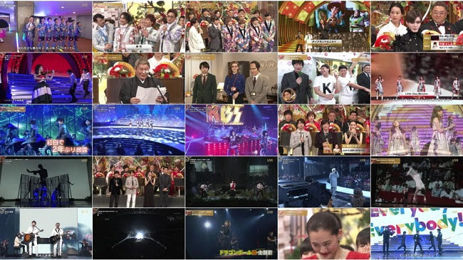 191231 (4K HD) 第70回NHK紅白歌合戦「夢を歌おう」