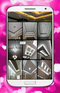 Living Room Ceiling Design - náhled