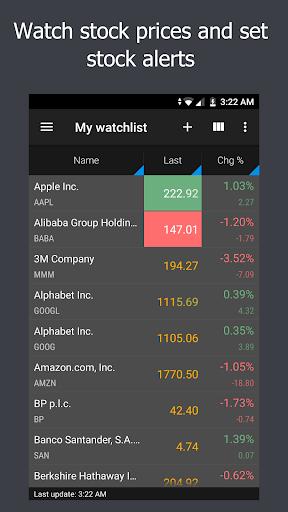 JStock screenshot 1