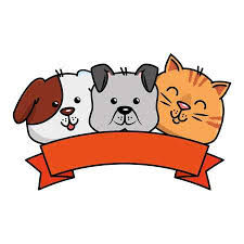 Image result for dog and cat clip art