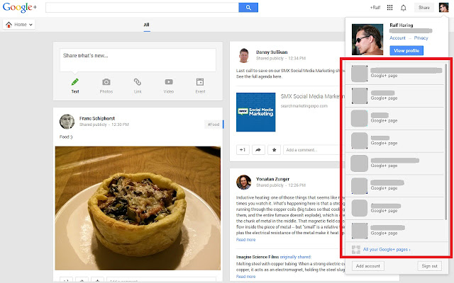 G+ Show All Pages