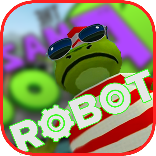 The Amazing Robot Frog