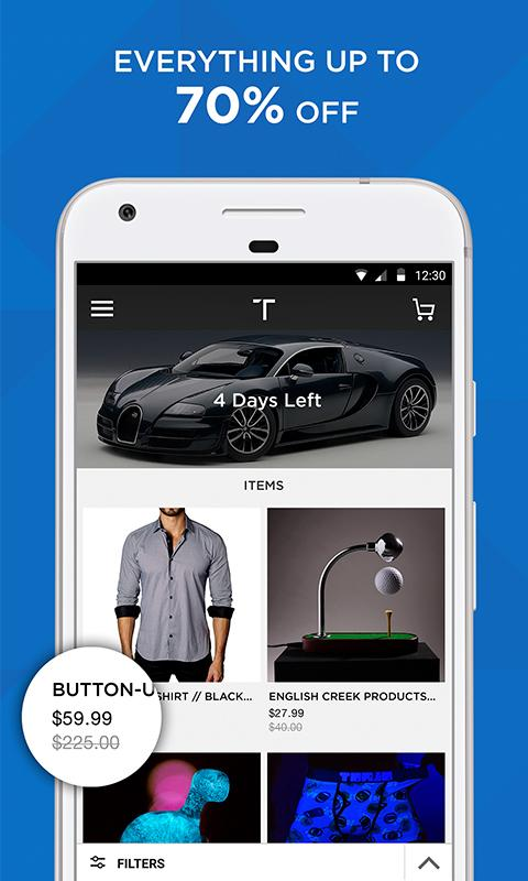 Touch of Modern: Shopping- screenshot