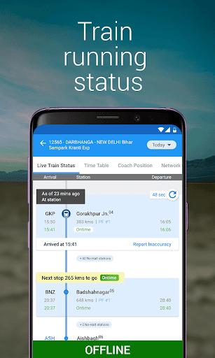 My Train: Live Status, IRCTC PNR Status & enquiry 3.7.1 screenshots 2