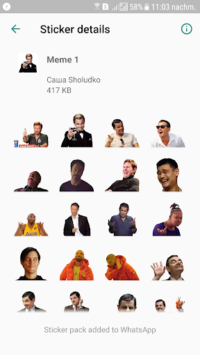 Screenshot for WAStickerApps Stickers in United States Play Store