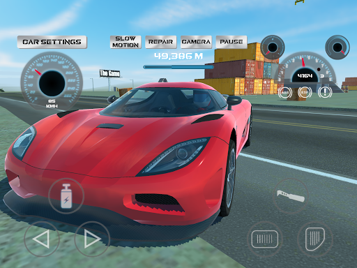 Super Sport Car Simulator  screenshots 14