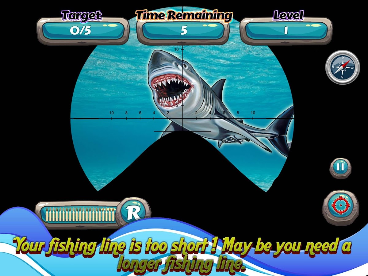great shark hunting android apps on google play great shark hunting screenshot
