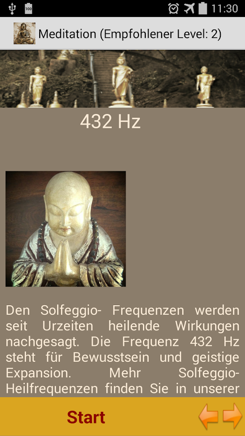 Meditation Trainer Achtsamkeit- screenshot