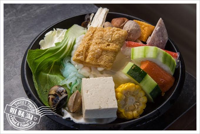 九勺涮涮鍋菜盤