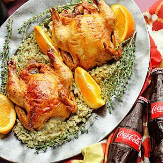 Coca-Cola Glazed Cornish Hens
