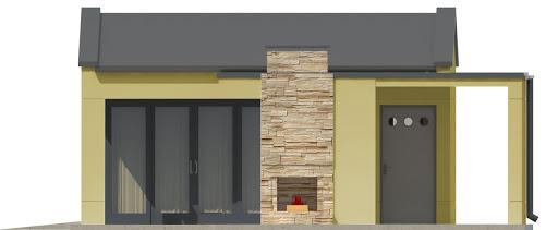 G192 - Budynek rekreacyjny - Elewacja lewa