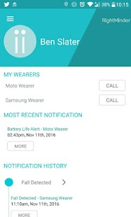 RightMinder® for Android Wear- screenshot thumbnail