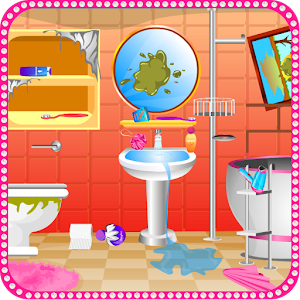 Bathroom cleaning girls games for PC and MAC