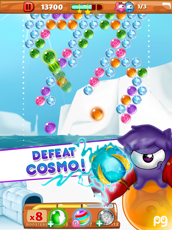 bubble shooter one more level