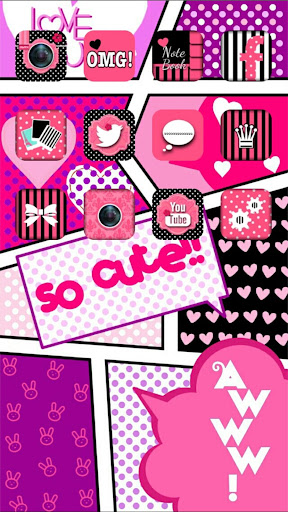 icon wallpaper dressup?CocoPPa screenshot 2