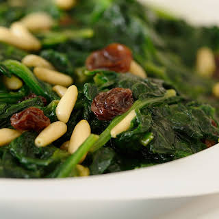 Easy Catalan spinach.