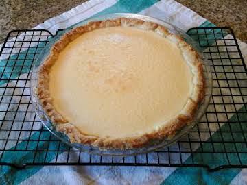 Cream Cheese Custard Pie