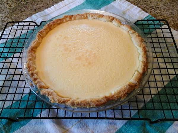 Cream Cheese Custard Pie....how Good Does That Sound...???...pretty Good!