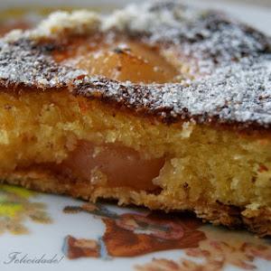 Pear Pie in Lemon Cream
