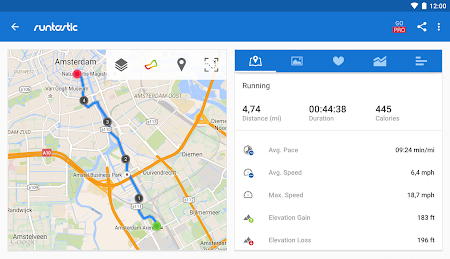 Runtastic Running & Fitness 5.3.4 screenshot 31766