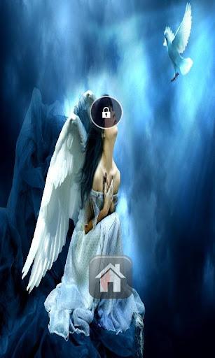 Angels In hd Lock Screen