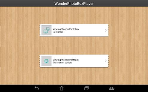 WonderPhotoBoxPlayer- screenshot thumbnail