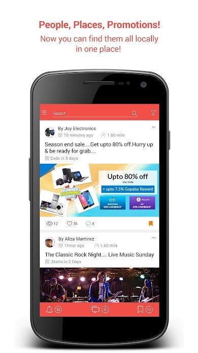 Chickku App Brings Local into Social Image