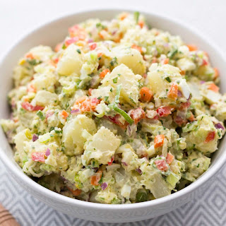 Pressure Cooker Potato Salad.