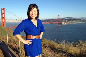 Photo: Jules and the Golden Gate Bridge