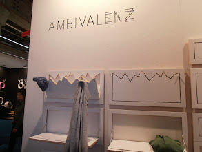 Photo: Folding furniture by Ambivalenz, Berlin  www.ambivalenz.org  #ambiente14