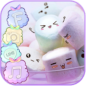 Marshmallow Candy Theme Icon Pack