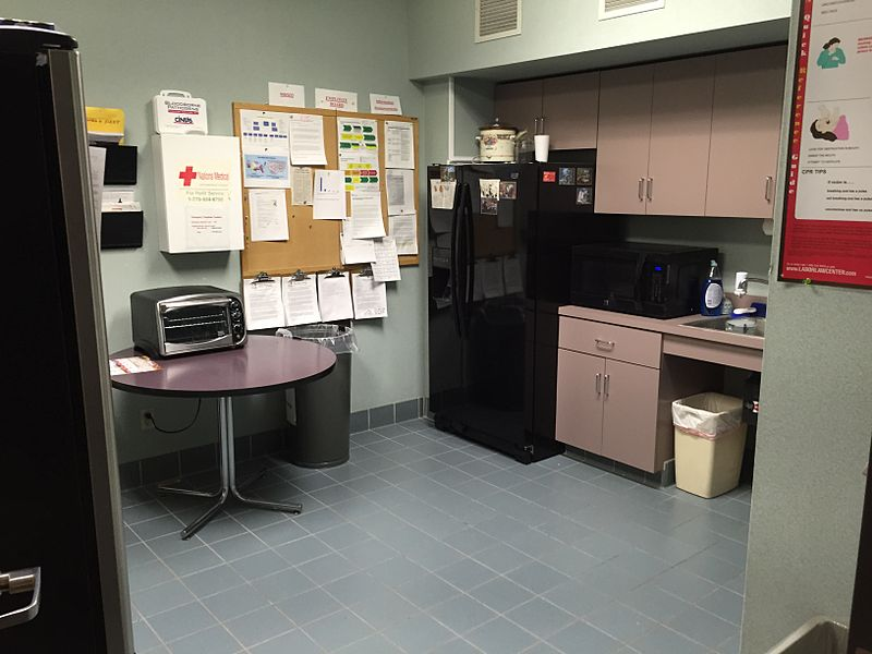 File:2015-04-28 19 09 10 Employee break room at the National Weather Service Weather Forecast Office in Elko, Nevada (NWS WFO LKN).jpg