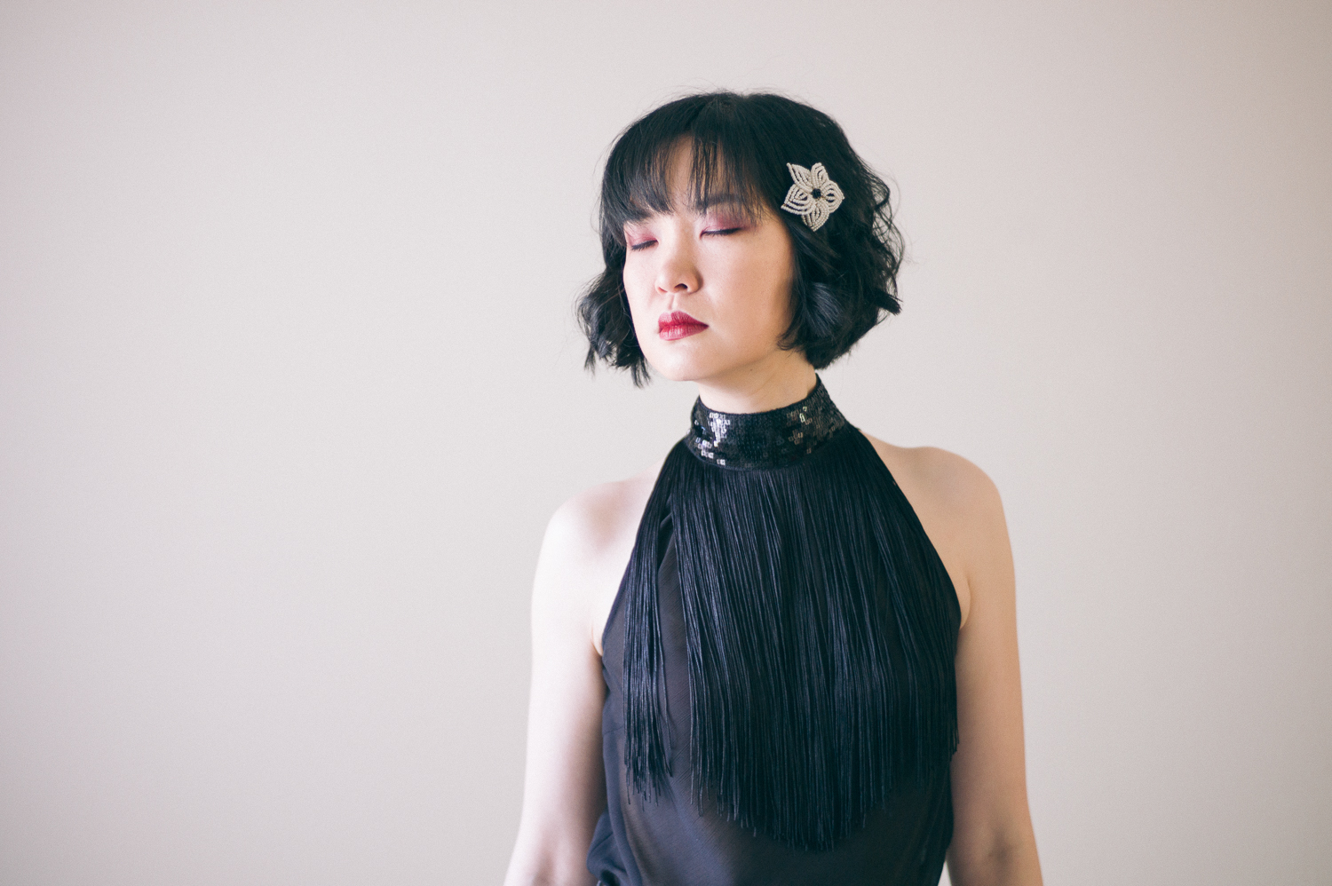 Style: DIY Halter Top with Fringe, Sequin, Lace Embellishments - DIY Fashion | Fafafoom.com