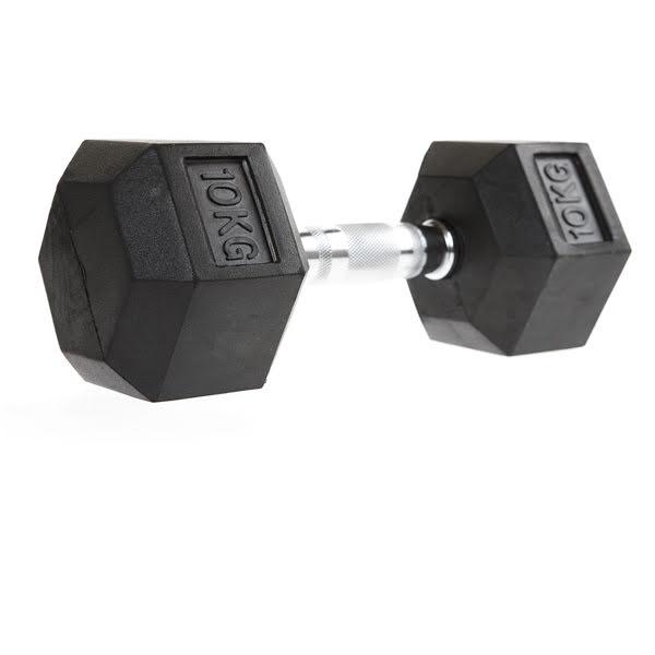 Hex kromhantlar med gummi 1-50 kg