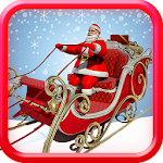 Santa Christmas Gift Delivery Game Icon