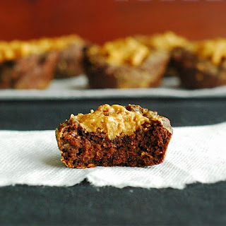 Peanut Butter Brownie Cups - Low Carb
