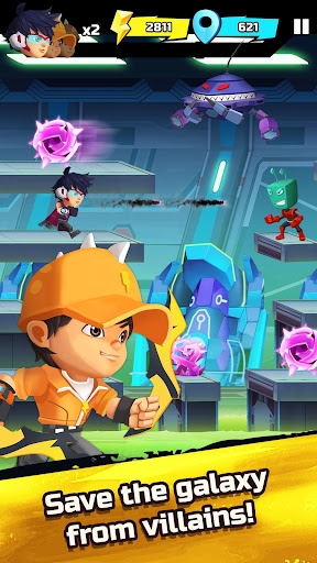 BoBoiBoy Galaxy Run: Fight Aliens to Defend Earth! 1.0.5d screenshots 5