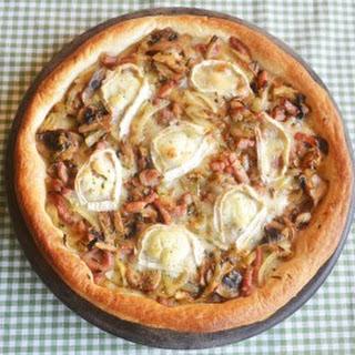 Goat Cheese and Caramelised Onion Tart Recipe