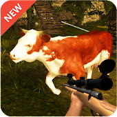 Sniper Shooter Cow Hunter