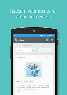 i-Say Rewards your Opinion- screenshot thumbnail
