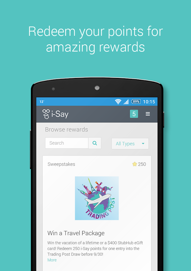 i-Say Rewards your Opinion- screenshot