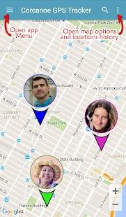 Corcanoe GPS Tracker Locator - náhled