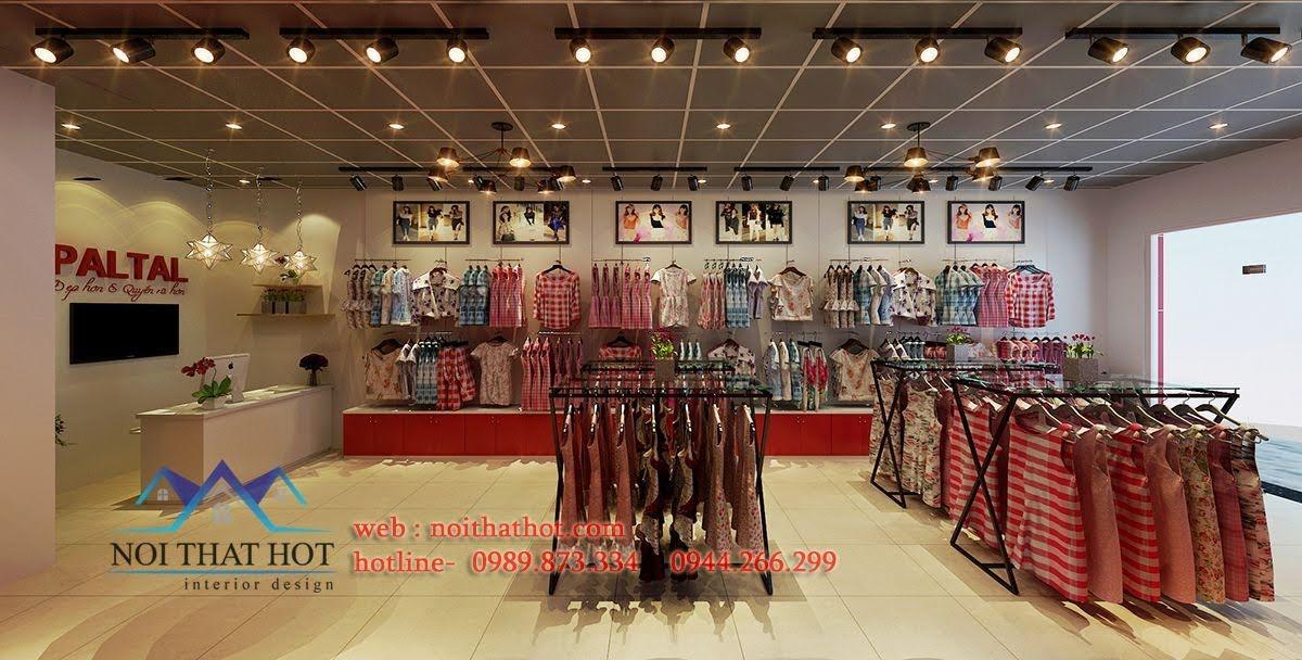 thiết kế shop thời trang và nội y paltal 4