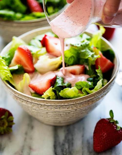 """Click Here for Recipe: Strawberry Poppy Seed Dressing """"I make a lot..."""
