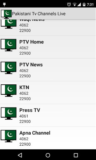 Pakistani Tv Channels Live 1.9 screenshots 6