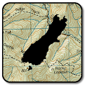 NZ Topo50 Offline Sth Island Map and Hunting Areas icon