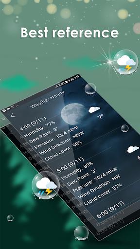 توقعات الطقس اليومية screenshot 8