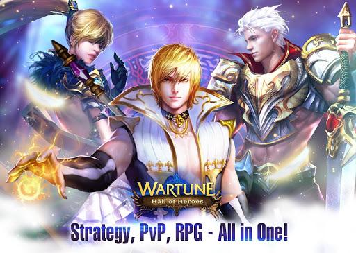 玩免費角色扮演APP|下載Wartune: Hall of Heroes app不用錢|硬是要APP