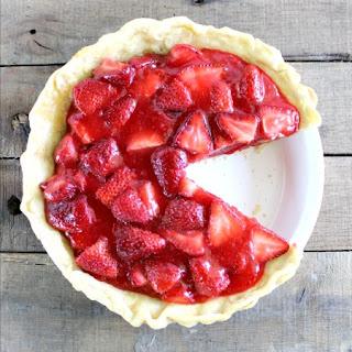 Classic Homemade Strawberry Pie.